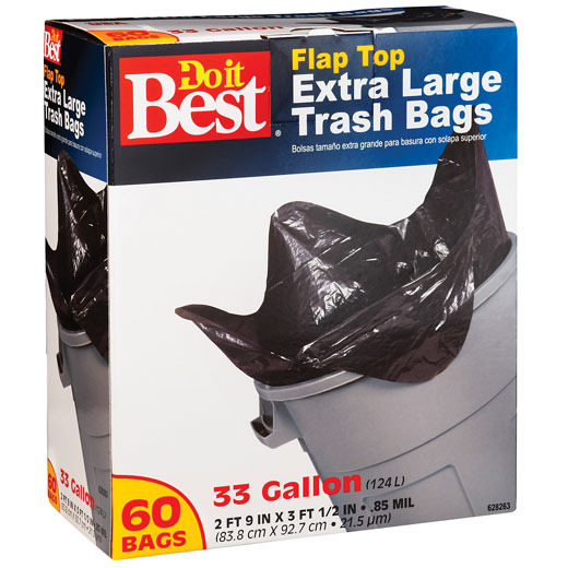 Trash Bags & Recycle Bags