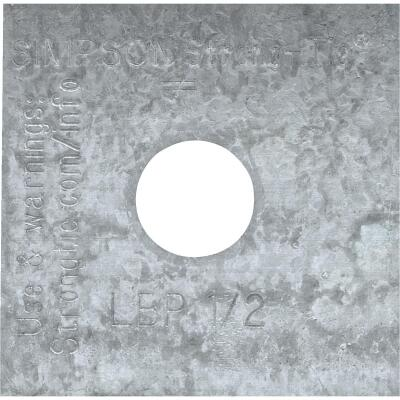 Simpson Strong-Tie 1/2 in. x 2 in. x 9/64 in. Steel Z-Max Bearing Plate