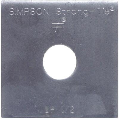Simpson Strong Tie 1in. Bearing Plate