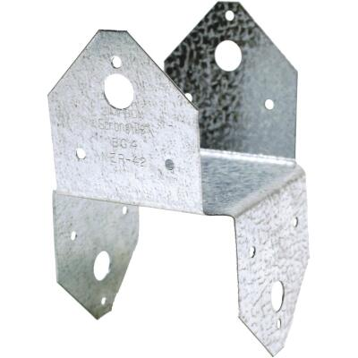 Simpson Strong-Tie 4 In. x 4 In. 18 ga Galvanized BC Post Cap & Base