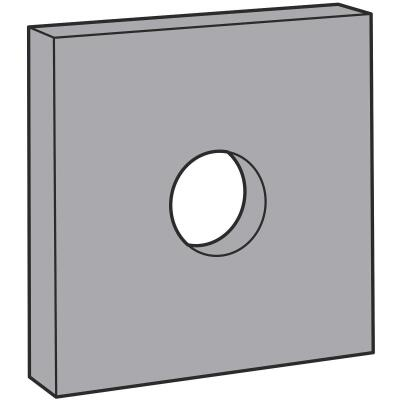 Simpson Strong Tie 7/8in. Galvanized Bearing Plate