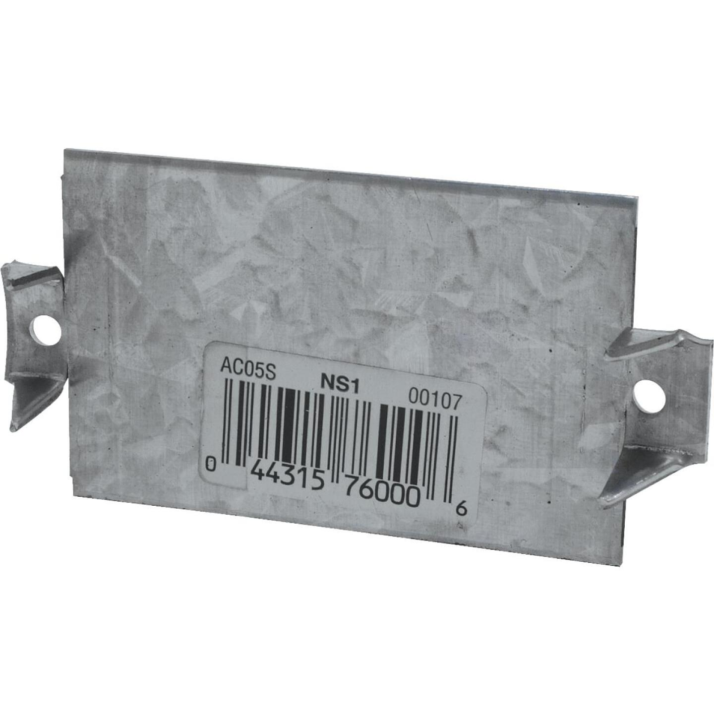 Simpson Strong-Tie 1-1/2 in. W x 3 in. L Galvanized Steel 16 Gauge Protection Plate Image 1