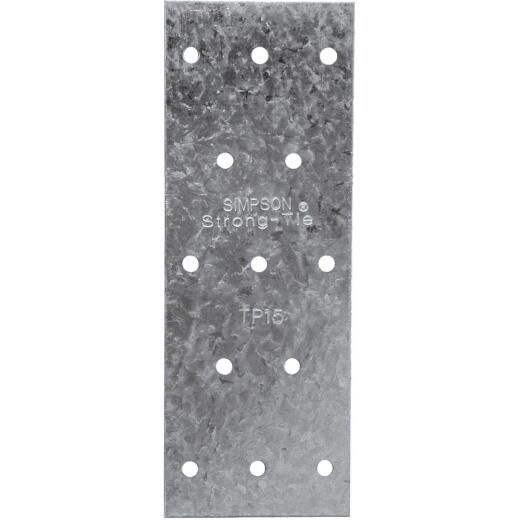 Simpson Strong-Tie 1-3/16 in. W. x 5 in. L. Galvanized Stee l 20 Gauge Tie Plate