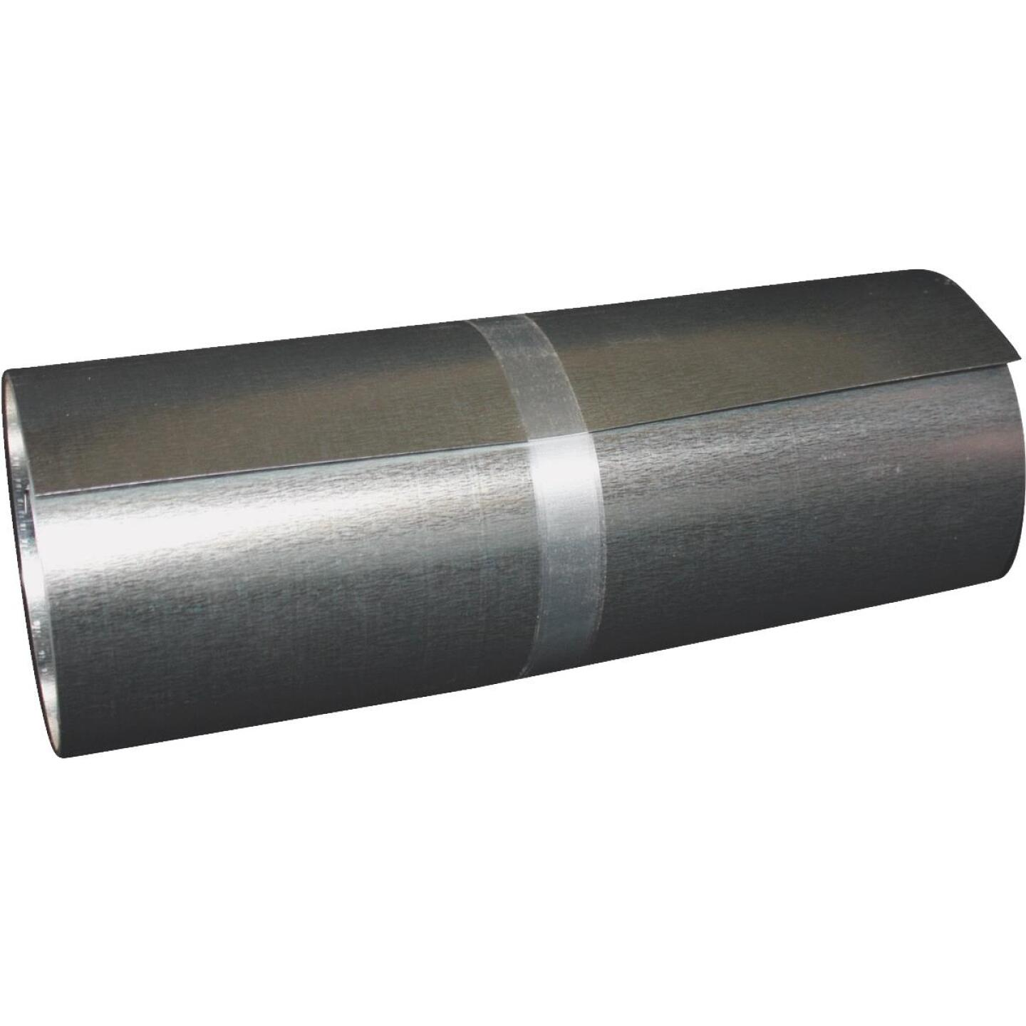 Klauer 4 In. x 10 Ft. Mill Galvanized Roll Valley Flashing Image 1