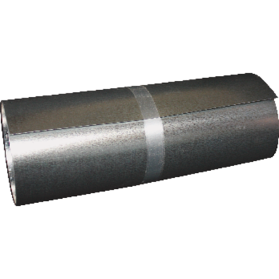 Klauer 6 In. x 25 Ft. Mill Galvanized Roll Valley Flashing