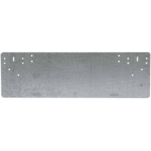 Simpson Strong-Tie 5 in. W x 16-5/16 in. L Galvanized Steel 16 Gauge Protection Plate