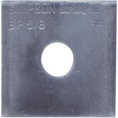 Simpson Strong-Tie 5/8 in. x 2-1/2 in. x 1/4 in. Steel Uncoated Bearing Plate