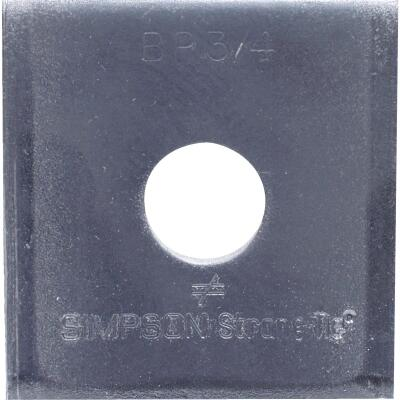 Simpson Strong-Tie 3/4. x 2-3/4 in. x 5/16 in. Steel Uncoated Bearing Plate