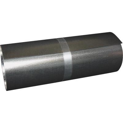 Klauer 4 In. x 50 Ft. x .010 In. Mill Galvanized Roll Valley Flashing
