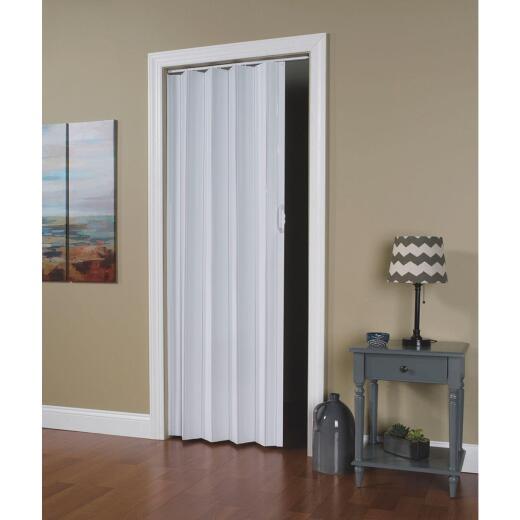 Spectrum Via 24 In. to 36 In. W. x 80 In. H. White Accordion Folding Door