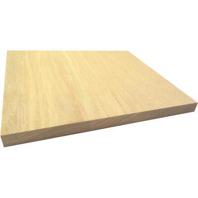 Waddell 1 In. x 12 In. x 4 Ft. Red Oak Board