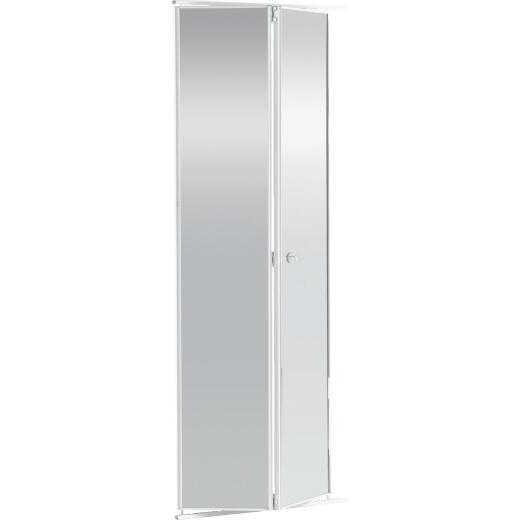 Colonial Elegance 36 In. H x 80-1/2 In. H Clear Framed Mirrored Bifold Door
