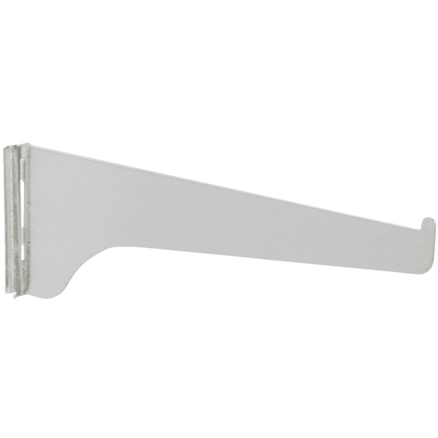 Knape & Vogt 180 Series 18 In. Anochrome Steel Regular-Duty Single-Slot Shelf Bracket Image 1