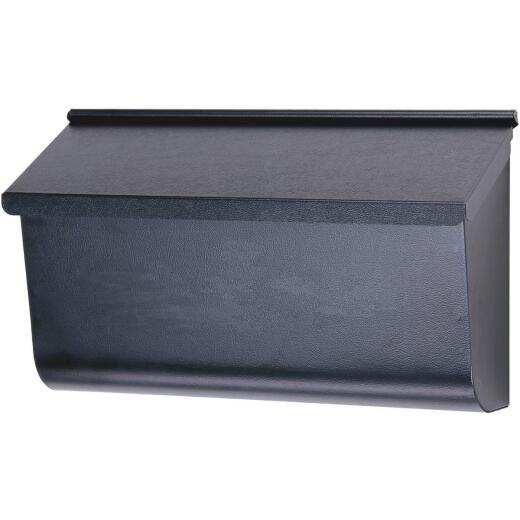 Gibraltar Woodlands Black Wall Mount Mailbox
