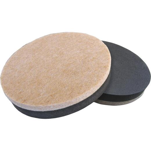 Do it 5 In. Heavy-Duty Round Mover's Pads,(4-Pack)