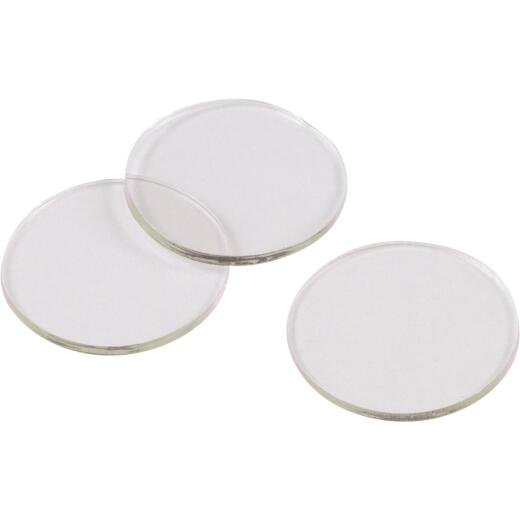 Do it 3/4 In. Round Clear Furniture Bumpers,(10-Count)