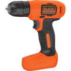 Black & Decker 8 Volt Lithium-Ion 3/8 In. Cordless Drill Kit Image 1
