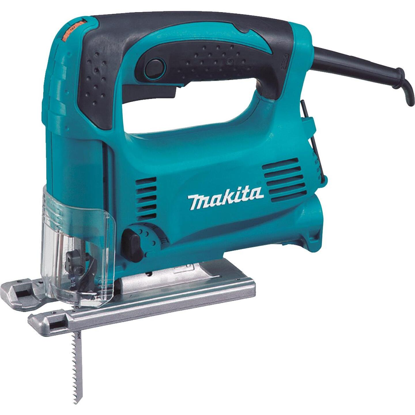 Makita 3.9A 3-Position 500-3100 SPM Top-Handle Jig Saw Kit Image 1