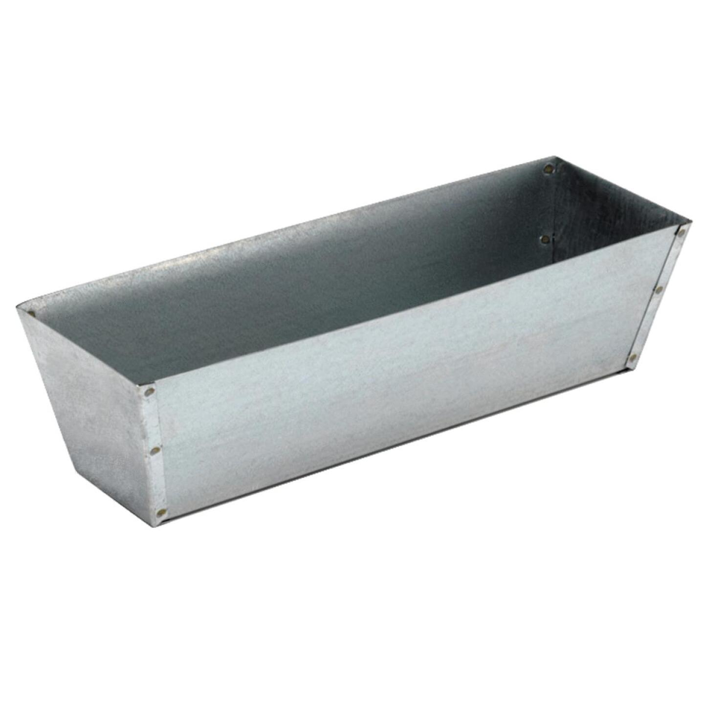 Marshalltown 14 In. Galvanized Steel Mud Pan Image 1