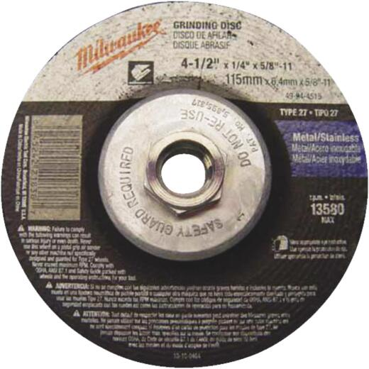 Milwaukee 4-1/2 In.x 1/4 In. Type 27 Cut-Off Wheel