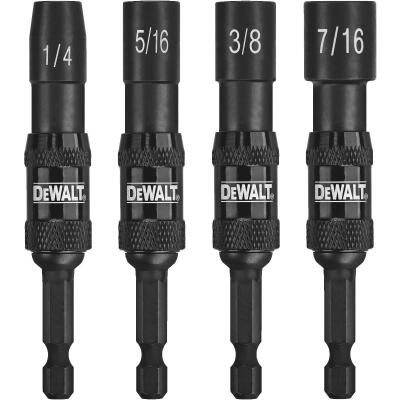 DeWalt Impact Ready 4-Piece Pivoting Magnetic Nutdriver Set