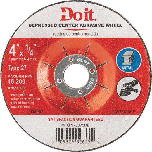 Do it 4 In.x 1/4 In. Type 27 Cut-Off Wheel
