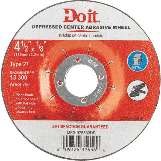 Do it 4-1/2 In. Type 27 Cut-Off Wheel
