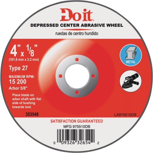 Do it 7 In.x 1/4 In. Type 27 Cut-Off Wheel