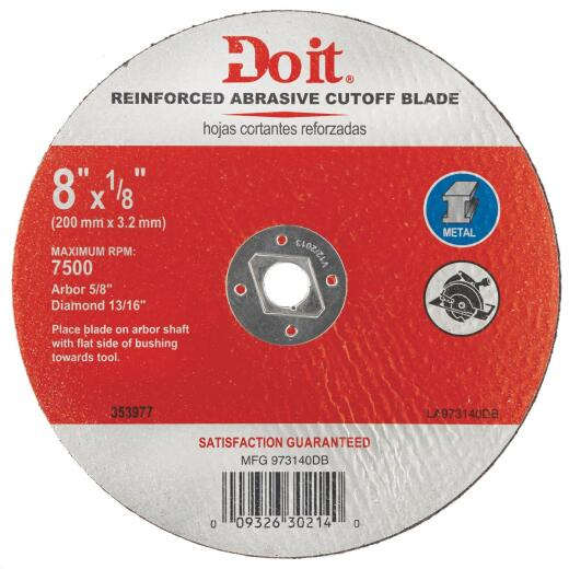 Do it 8 In. Type 1 Cut-Off Wheel