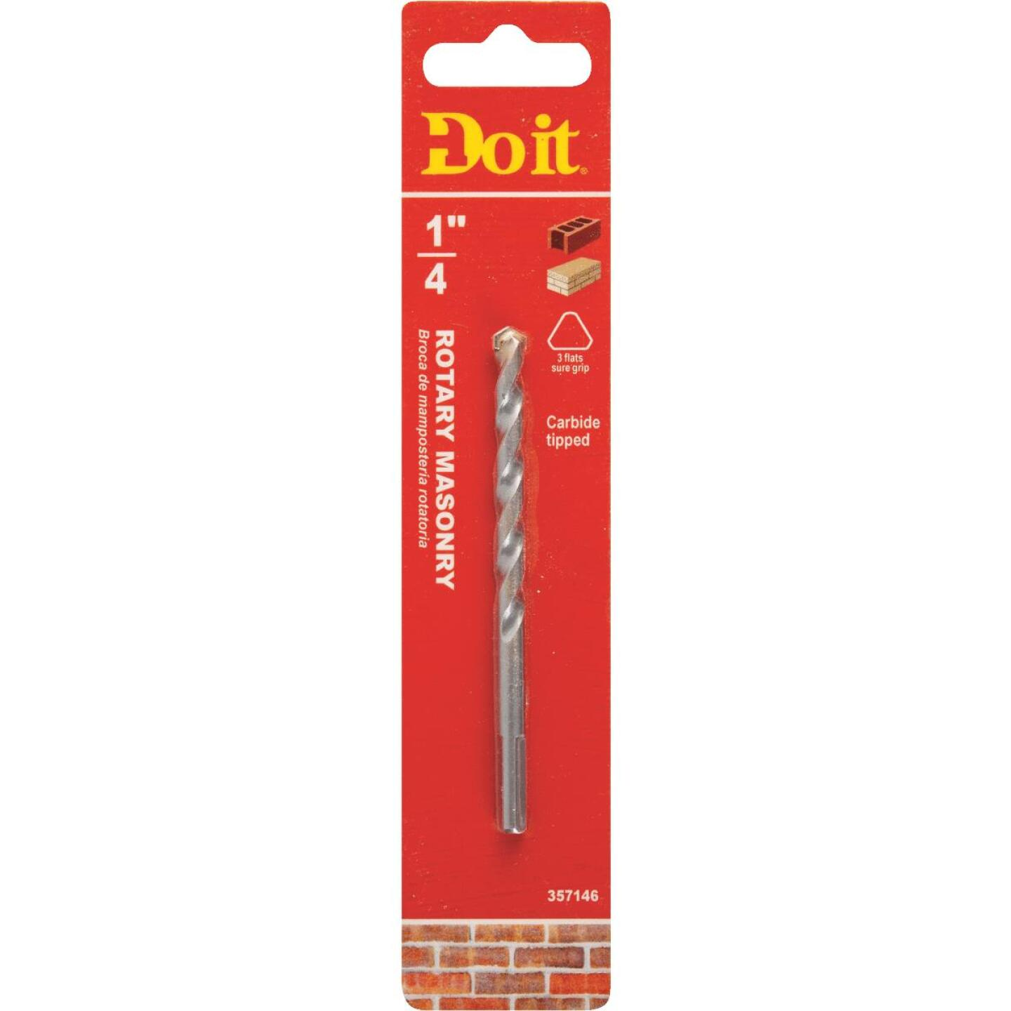 Do it 1/4 In. x 4 In. x 2.Rotary Masonry Drill Bit Image 1