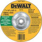DeWalt HP Type 27, 7 In. Cut-Off Wheel Image 1