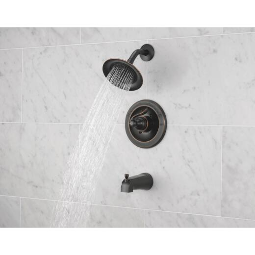 Delta Oil-Rubbed Bronze Single-Handle Lever Tub & Shower Faucet