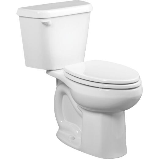 American Standard Colony Right Height White Elongated Bowl 1.28 GPF Toilet-To-Go