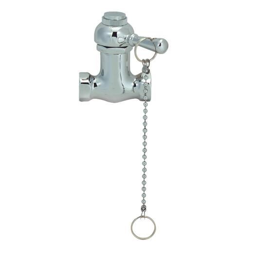 Jones Stephens Chrome 1-Handle Lever Shower Faucet