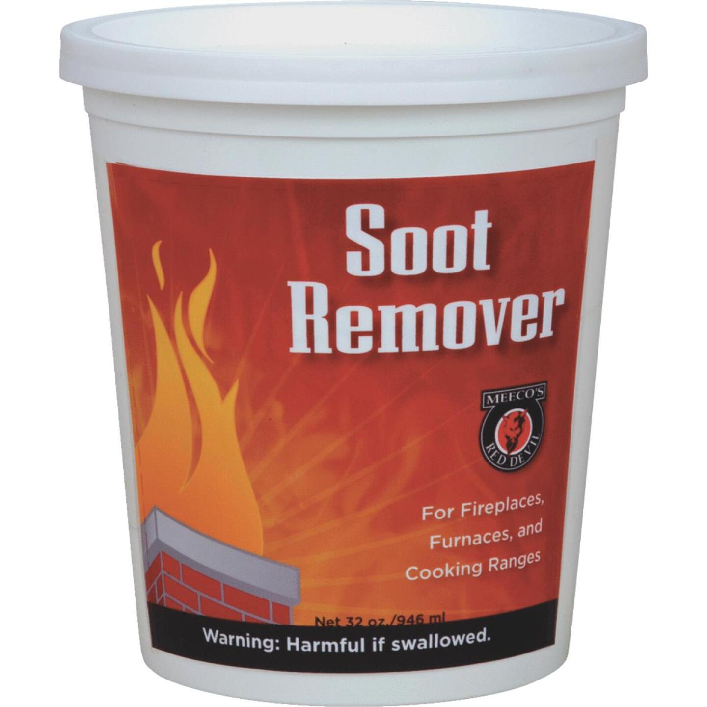 Meeco's Red Devil Pint Powdered Soot Remover Image 1