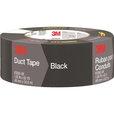 3M 1.88 In. x 60 Yd. Colored Duct Tape, Black