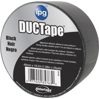 Intertape DUCTape 1.88 In. x 20 Yd. General Purpose Duct Tape, Black