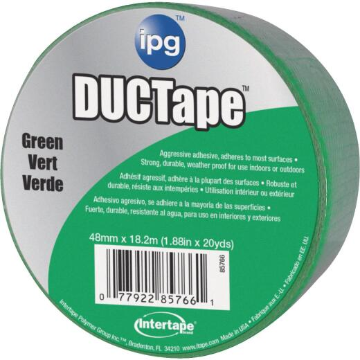 Intertape DUCTape 1.88 In. x 20 Yd. General Purpose Duct Tape, Green