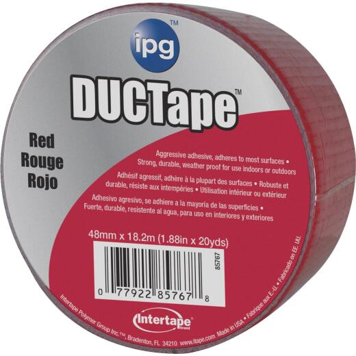 Intertape DUCTape 1.88 In. x 20 Yd. General Purpose Duct Tape, Red