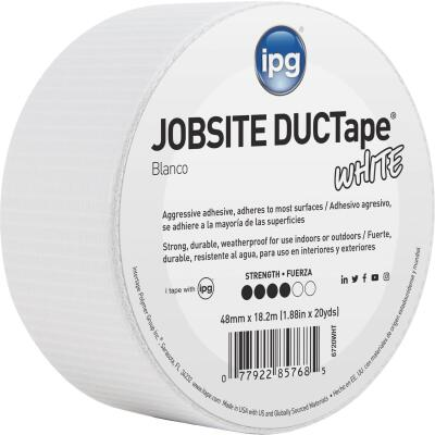 Intertape DUCTape 1.88 In. x 20 Yd. General Purpose Duct Tape, White