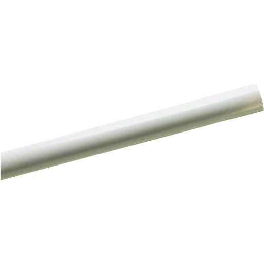Zenith 60 In. White Shower Rod Cover