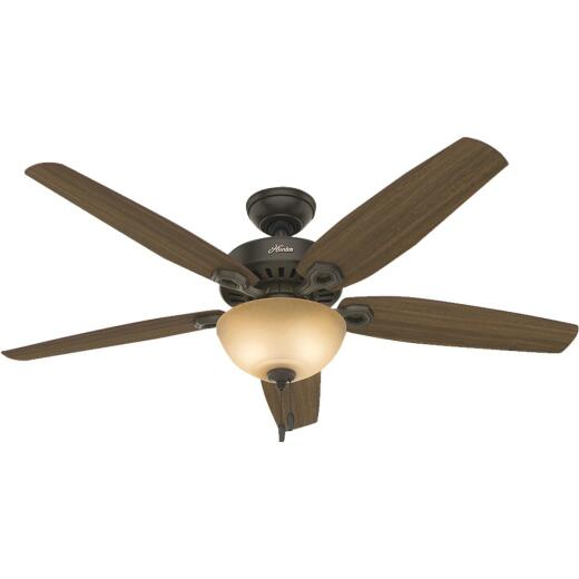 Hunter Builder Great Room 56 In. New Bronze Ceiling Fan with Light Kit