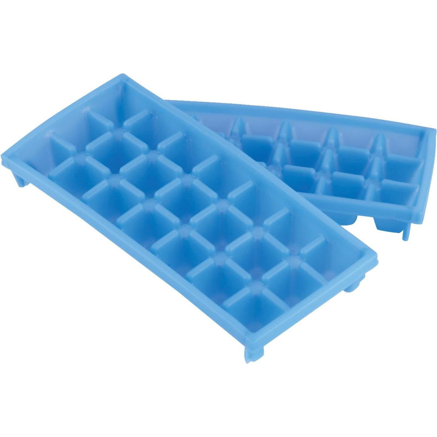 Camco 9 In. L x 4 In. RV Mini Ice Cube Tray, (2-Pack) Image 1