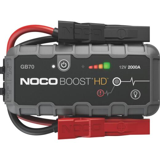 NOCO Boost HD 2000 Amp 12-Volt UltraSafe Lithium Jump Start System