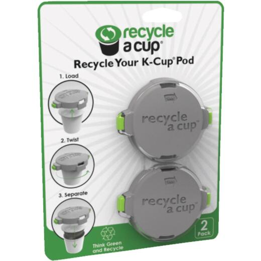 Recycle A Cup 2.125 In. Dia. Plastic K-Cup Pod Cutter (2-Pack)