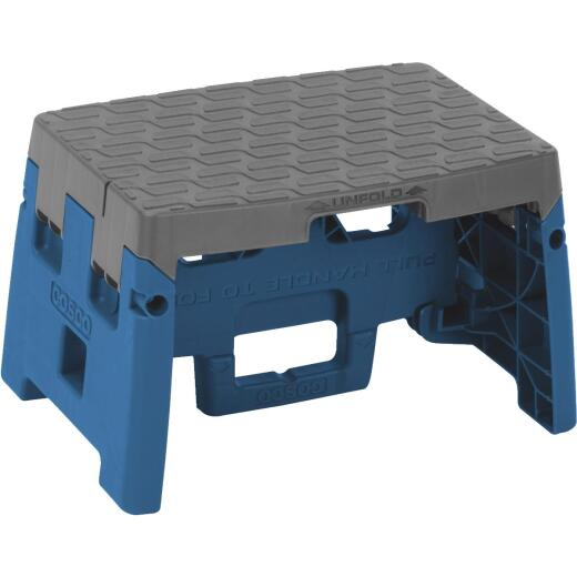 COSCO 1-Step Blue Folding Step Stool