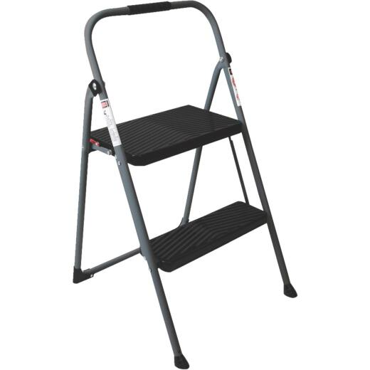 Werner 2-Step Type II Folding Step Stool