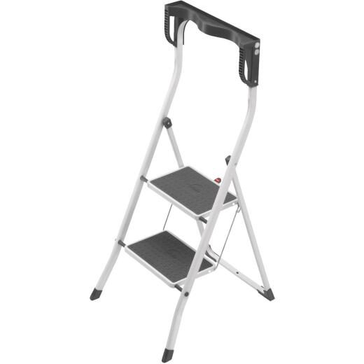 Hailo Safety Plus 2-Step Folding Step Stool