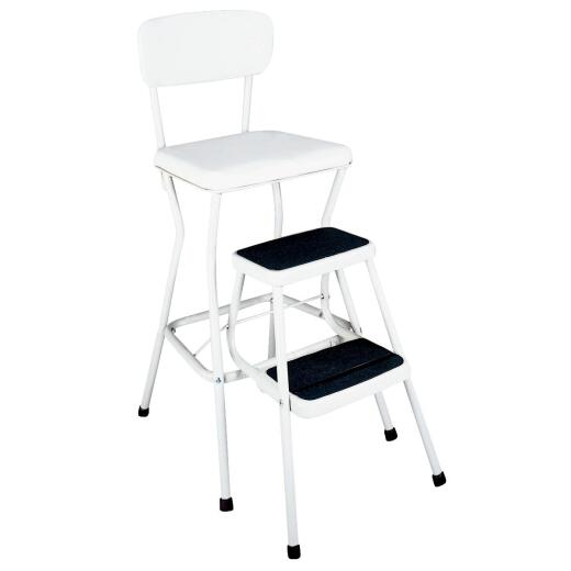 COSCO Pull-Out 2-Step Stool Chair