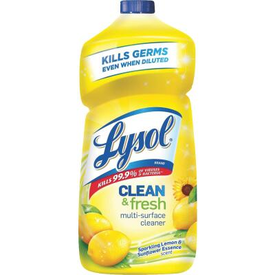 Lysol 40 Oz. Lemon & Sunflower Essence Multi-Surface Cleaner